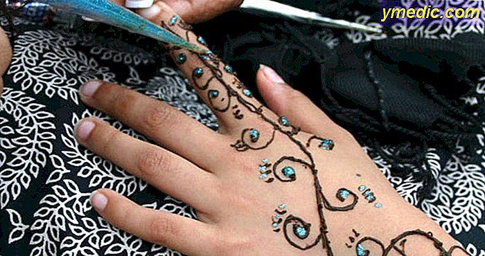 Tatuaż Henny Bez Alergii